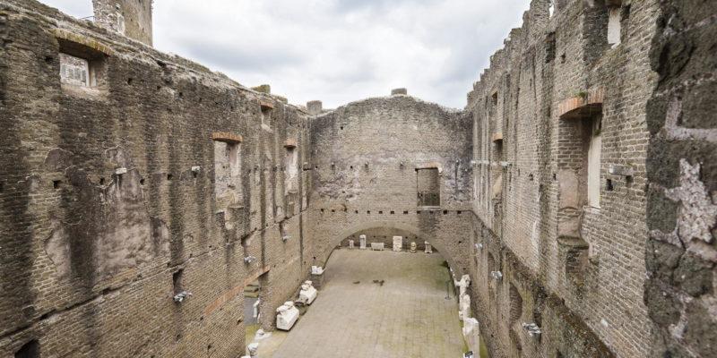 """Il """"Museo dell'Appia"""" all'interno del Castum Caetani."""