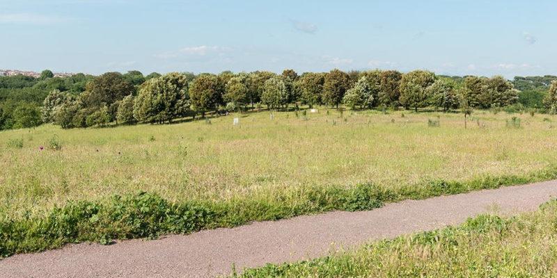 Il triopio di Erode Attico nel Parco della Caffarella.