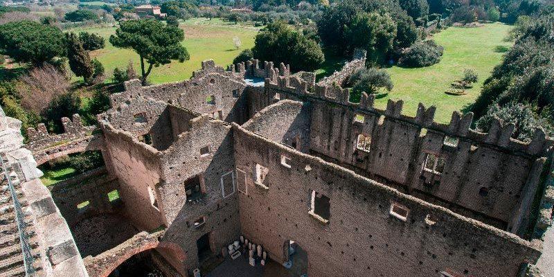 Il Castrum Caetani