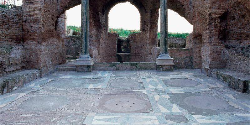 Frigidarium Villa dei Quintili
