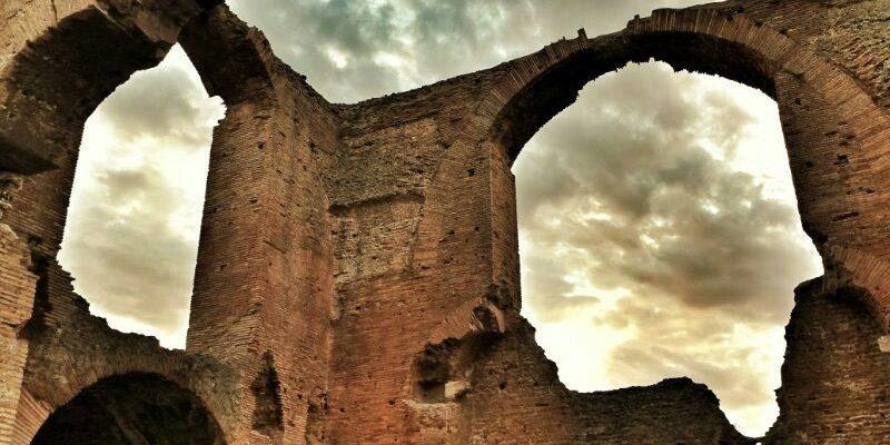 Calidarium Villa dei Quintili