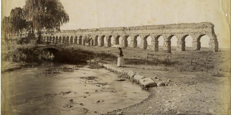 Tratto dell'acquedotto Claudio