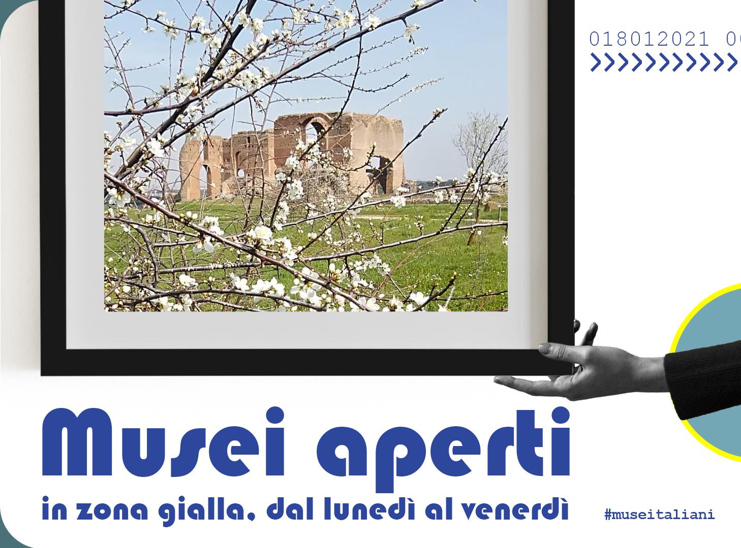 Lunedì 1° marzo riaprono tutti i siti del Parco Archeologico dell'Appia Antica