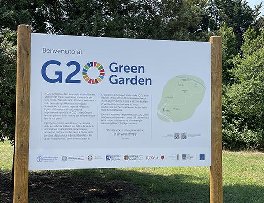 Apre il G20 Green Garden alla Caffarella